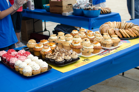 Food Tent at the Power Walk for Dress for Success, South Central, PA 2015