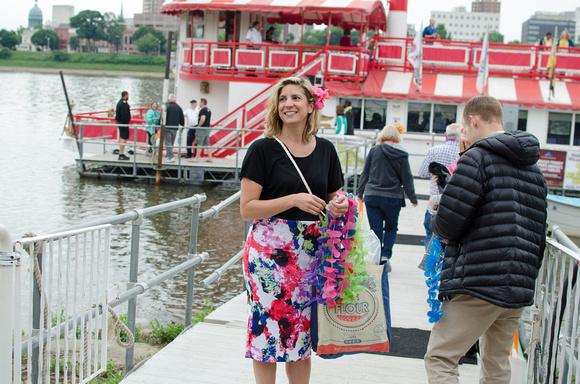 Sara Bozich 2015 Booze Cruise