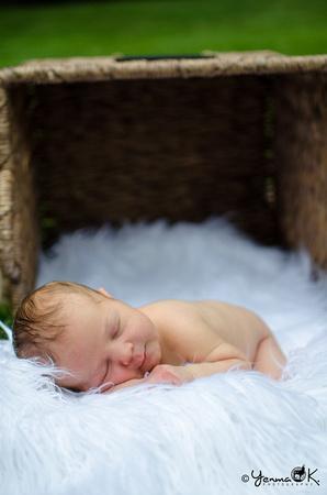Outdoor Newborn Photo Session Harrisburg, PA