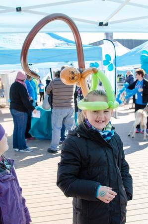 Monkey Balloon Animal Hat