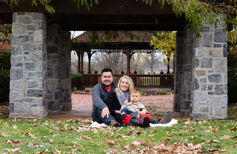 Autumn Family Portrait at Founders Hall