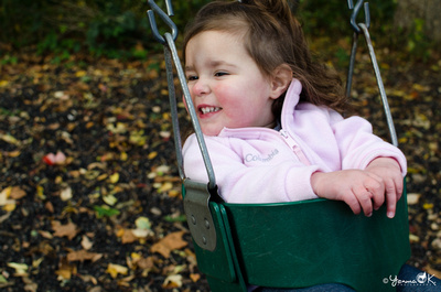 Children Photography Playground Swings