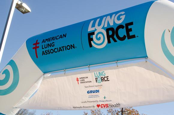 American Lung Association Lung Force Walk Banner