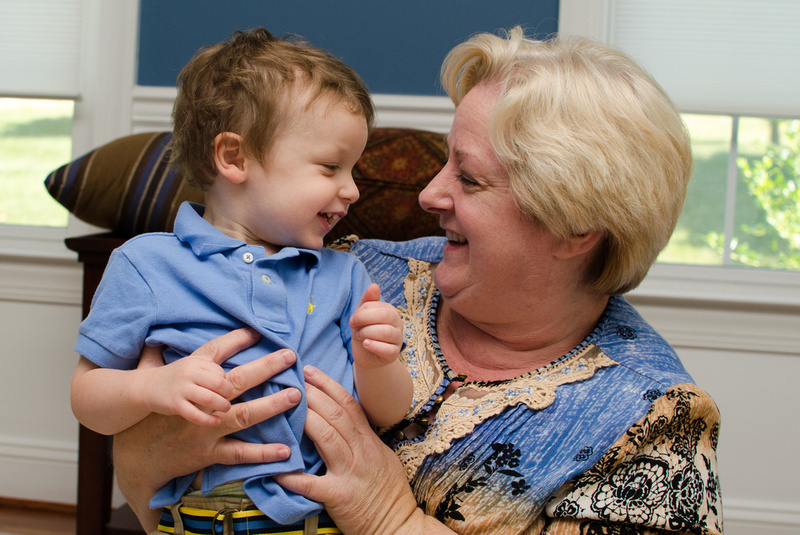 Nana and Grandson Portrait