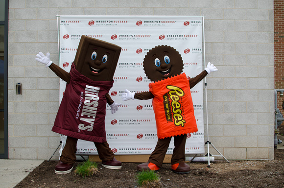 Hershey Characters attend Dress For Success Power Walk in South Central, PA 2015