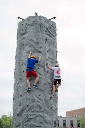 Climbing Wall by the National Guard South Central, PA Dress for Success
