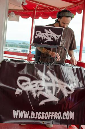 DJ Geoffro on Sarabozich.com Booze Cruise 2015