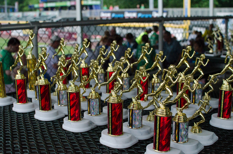 Awards for the Pasta 5k Run