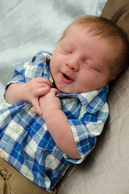Newborn Son Portrait