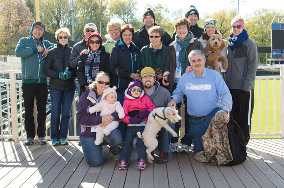 Lung Force Walk 2014 Participants