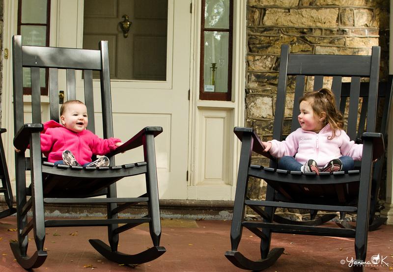 Children Photography Children Rocking away on Chairs