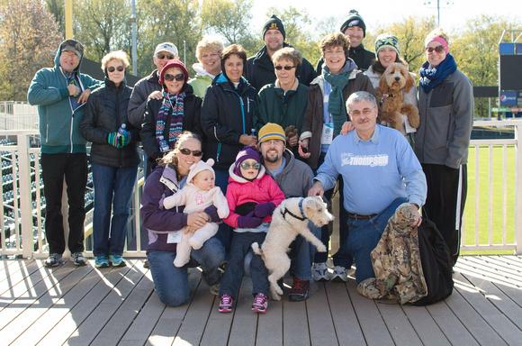 Lung Force Walk 2014 Participants