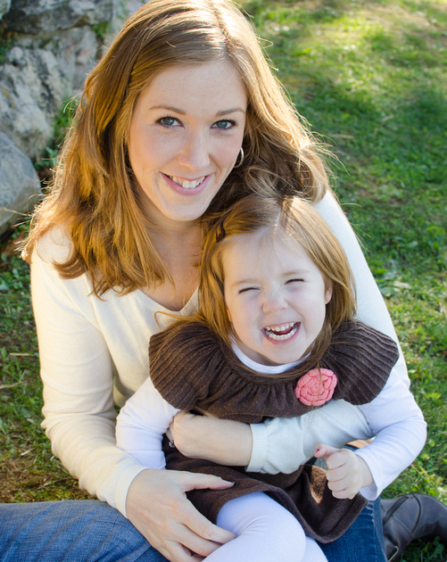 Mom and Daughter Portrait at the Kings Gap Mansion